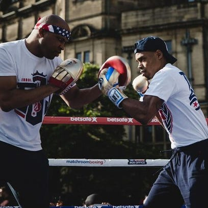 Errol Spence Jr. ready to seize the day and Kell Brook's welterweight title