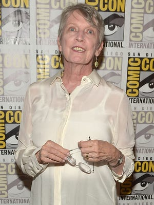 """Lois Lowry, author of """"The Giver"""" at Comic-Con in July 2014 in San Diego, Calif."""