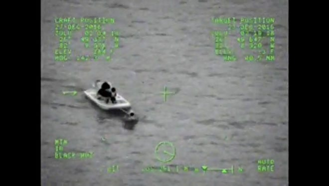 Four boaters reported missing Monday were rescued from Charlotte Bay by U.S. Coast Guard and other agencies.