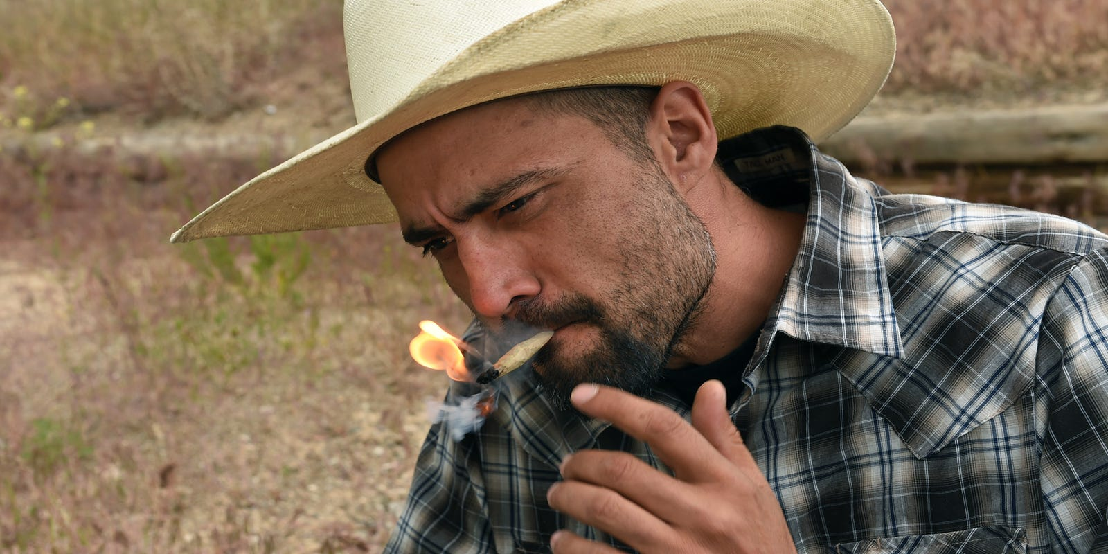 Image result for cowboy smoking bong