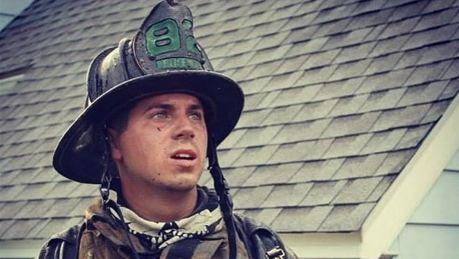 Capt. Jake Slater, of the Lewes Fire Department, suffered burns on 70 percent of his body after being injured on the job for Delmarva Petroleum, according to the Fire Department.