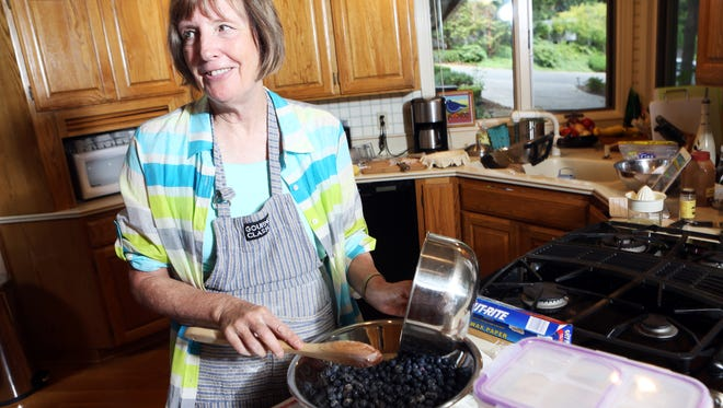 "Vickie Woods enjoys her ""half-baked retirement,"" as she bakes a pie each day and gives it away to a friend or a stranger."