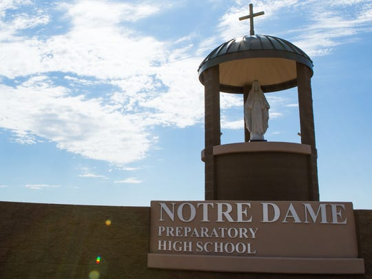 Notre Dame Preparatory High School in Scottsdale.