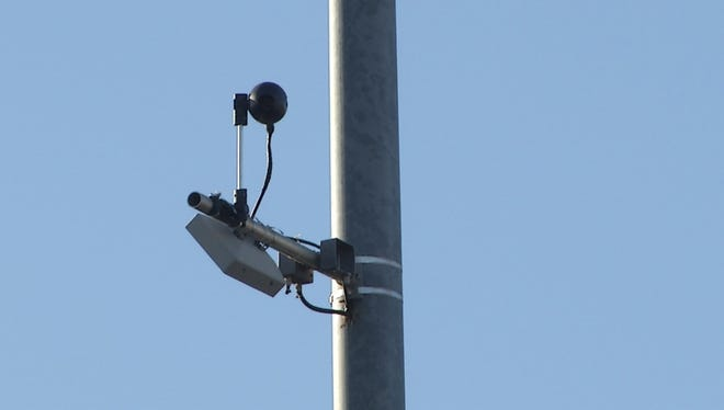 The Arizona Transportation Board approved a $3.7 million plan to install athermal-detection system using cameras like this one on Interstate 17 in Phoenix to help prevent wrong-way drivers.