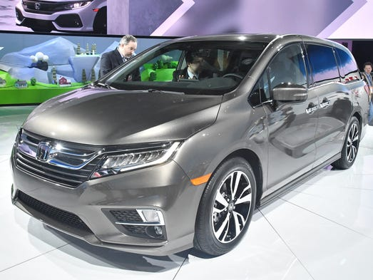 Honda Odyssey: </div>The best-selling Chrysler Pacifica and