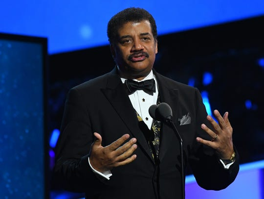 Neil deGrasse Tyson during the Grammy Awards Premiere