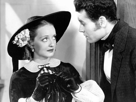 Bette Davis and Henry Fonda in Jezebel
