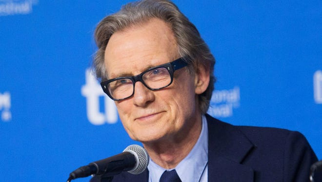 """Bill Nighy attends a press conference for """"Pride"""" at the 2014 Toronto International Film Festival in Toronto on Sept. 7, 2014."""
