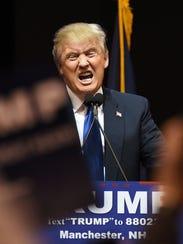Donald Trump, candidato virtual republicano a la presidencia