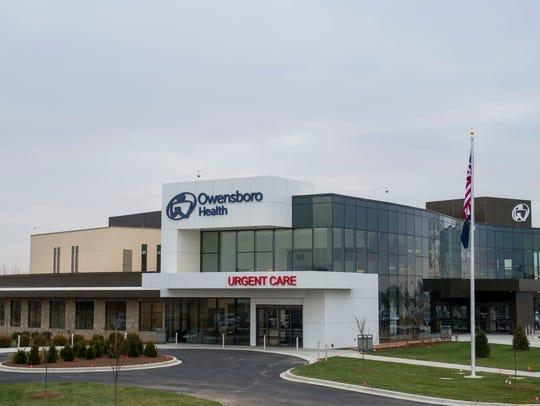 The Owensboro Health Henderson Healthplex is seen in