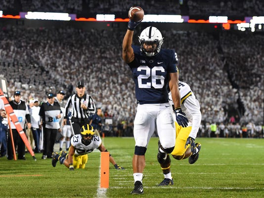 NCAA Football: Michigan at Penn State
