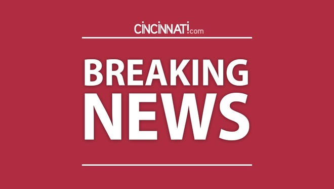 A 9-month-old girl was pulled from a retention pond in West Chester Monday afternoon after her stroller rolled off the walking path and into the water.