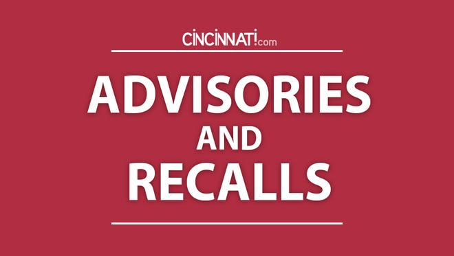 Advisories and recalls