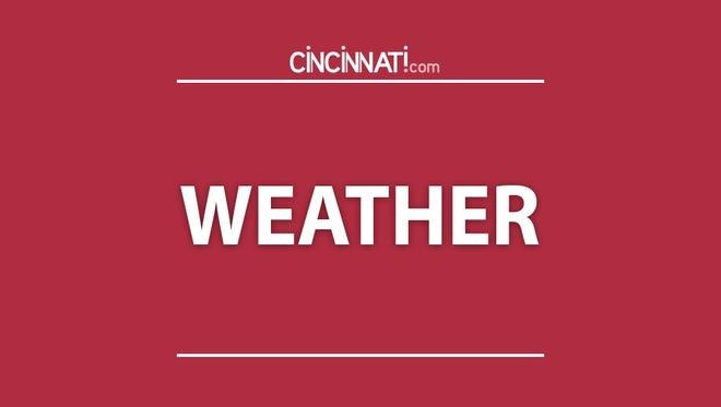 Cincinnati weekend weather.