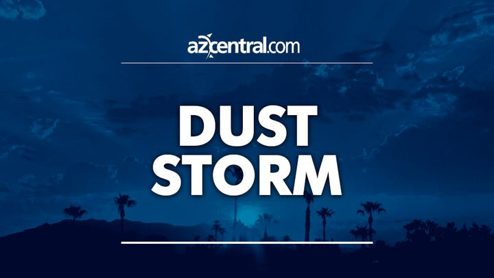 Blowing dust advisory extended for parts of Maricopa, Pinal counties