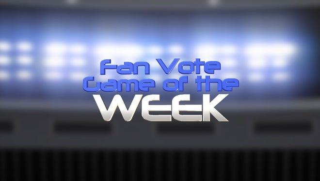 Fan Vote Game of the Week