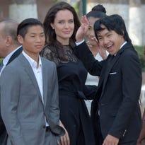 Angelina Jolie and the kids return to Cambodia