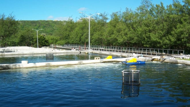 This undated photo shows a portion of the Guam Aquaculture Development and Training Center, at Fadian, Mangilao. A recently introduced bill would expand the marine hatchery, which is the oldest and largest aquaculture center in the Western Pacific.