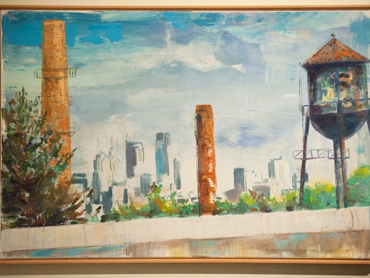 """This painting by Bruce Garrity will be shown in """"Picturing"""