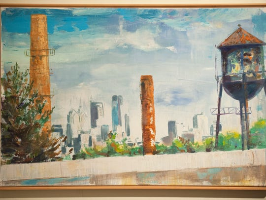 "This painting by Bruce Garrity will be shown in ""Picturing Camden,"" an exhibition at Rutgers–Camden's Stedman Gallery through Dec. 8."
