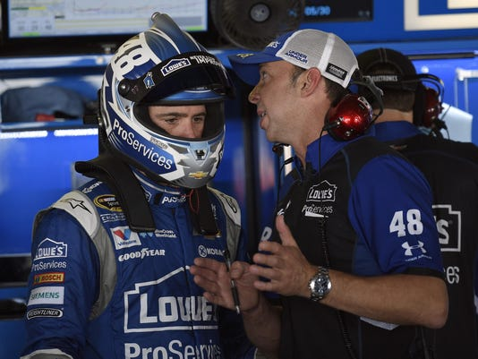Jimmie Johnson, Chad Knaus
