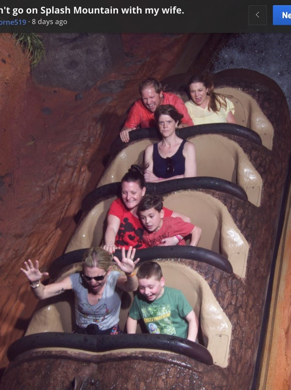 Angry Splash Mountain Lady returns — and shes not angry