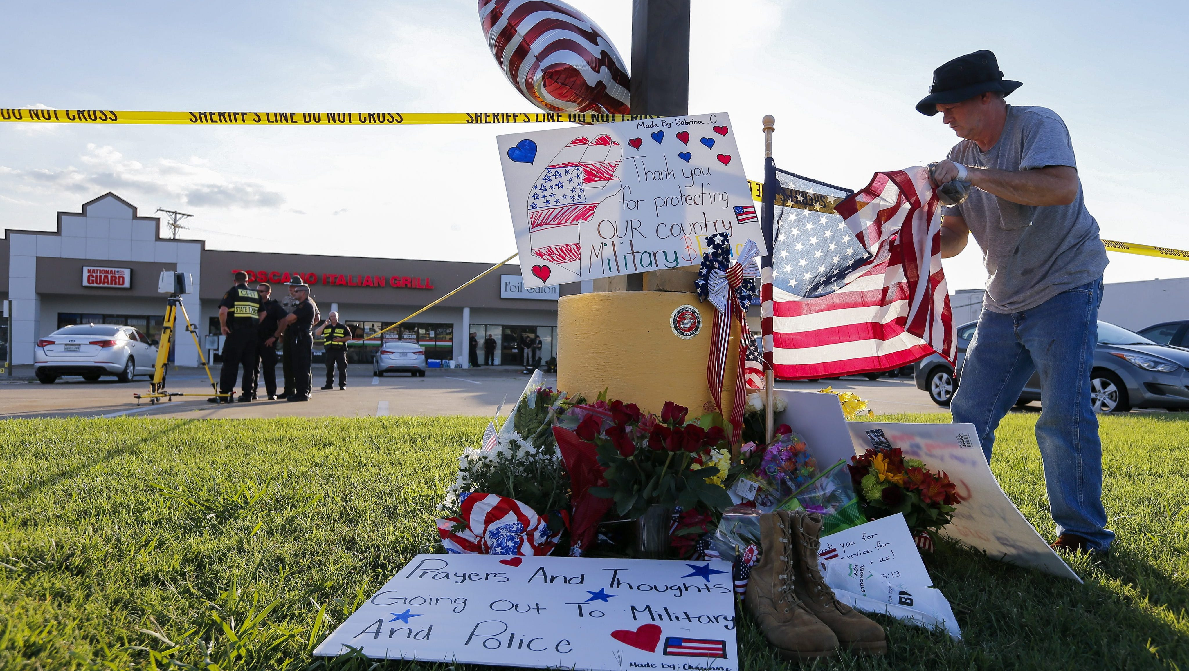 fbi expects to have presence for days after chattanooga