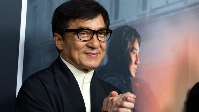 Jackie Chan attends The Los Angeles Premiere of The Foreigner, on October 5, 2017, in Hollywood, California.