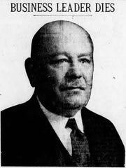 Arthur R. Morgan, a member of the University of Cincinnati's