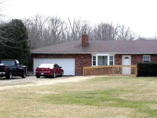 According to Cincinnati police, this is the Pleasant Plain residence of April Corcoran.