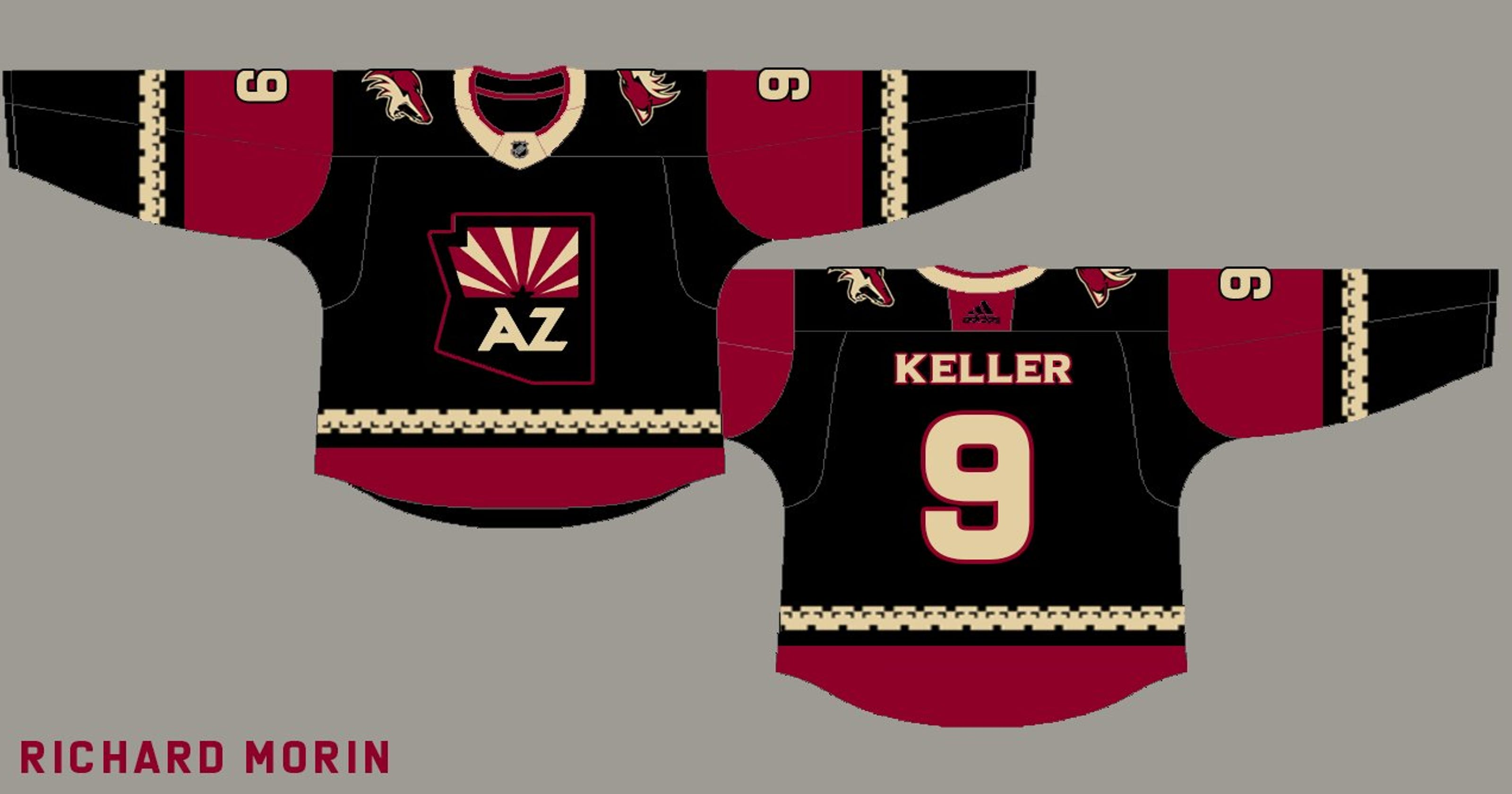 ba9e8c3fbe49 Arizona Coyotes third jersey  What will alternate sweater look like