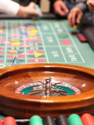 Plan for a casino night during the Chamber's Party Gras, Jan. 27.