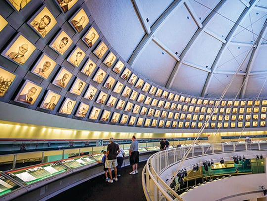 The Naismith Memorial Basketball Hall of Fame has inducted