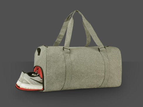 Start a new habit with this duffel bag: Traveling, Working Out, Spontaneous Weekend Getaways!