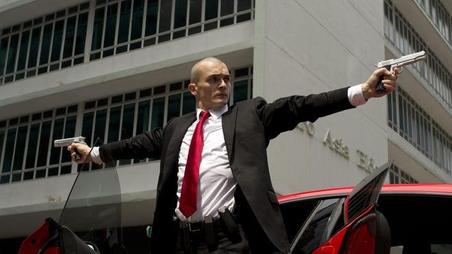 """Rupert Friend appears in a scene from """"Hitman: Agent 47."""""""