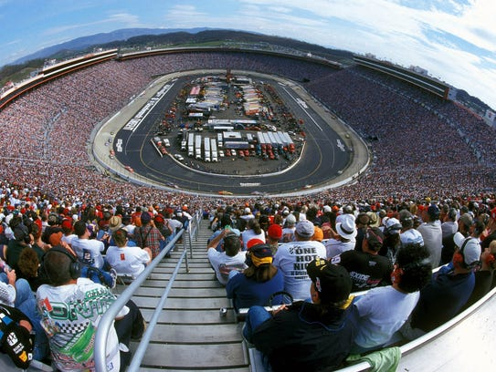 Not a seat to be had as fans watch the race in Bristol,