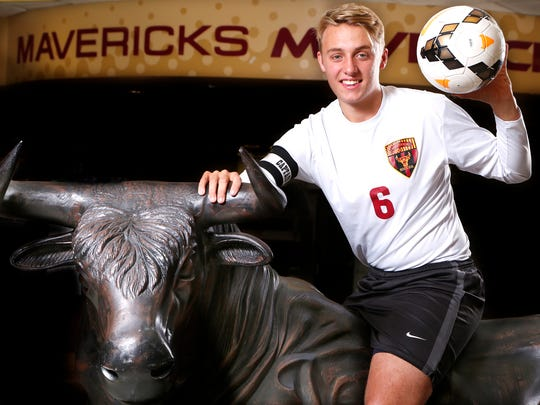 Sam Williams of McCutcheon High School is the 2016 Journal & Courier Soccer Player of the Year.