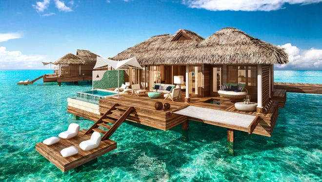 Sandals Resorts will be debuting Over-the-Water Suites at their Sandals Royal Caribbean resort in Montego Bay, Jamaica, available beginning November 15, 2016.