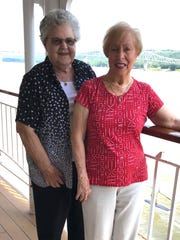 Jane Chaney and Martha Kamm were teachers in Brevard
