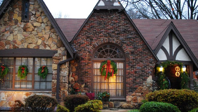 This house was featured on a previous LANA Holiday Home Tour.