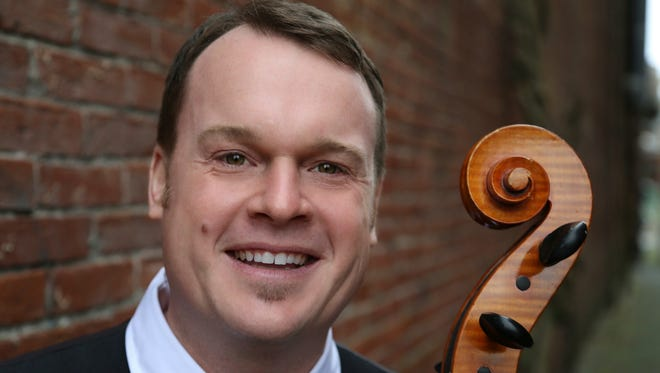 """Cellist Noah Seitz of Keizer will join Salem Philharmonia Orchestra for two concerts titled """"Music that Captures Your Dreams"""" at 7 p.m. Feb. 26-27."""