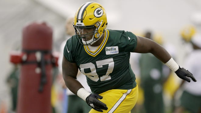 First-round draft choice Kenny Clark