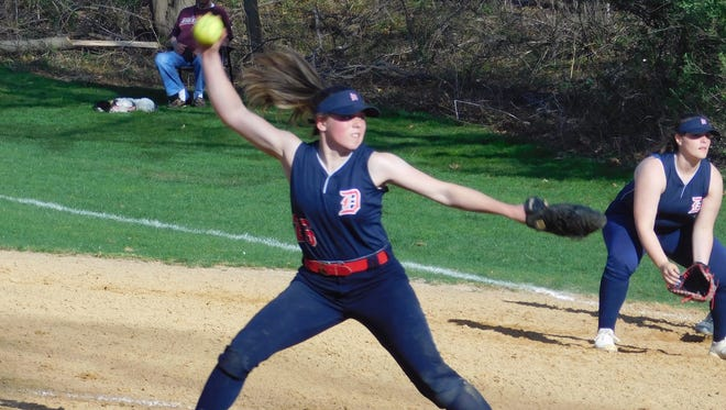Elizabeth Renavitz of Dunellen was voted the Home News Tribune Softball Player of the Week.