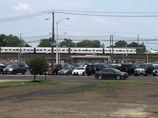 PATCO station on Ferry Avenue