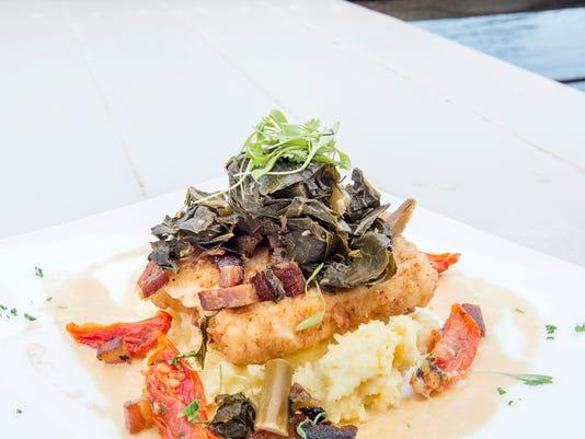 Fish House food
