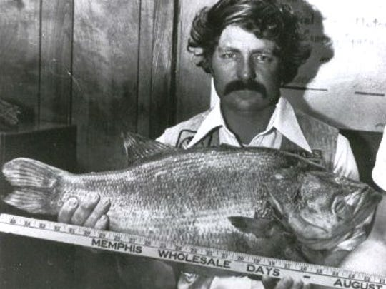 The Arkansas record largemouth was caught in 1976 by