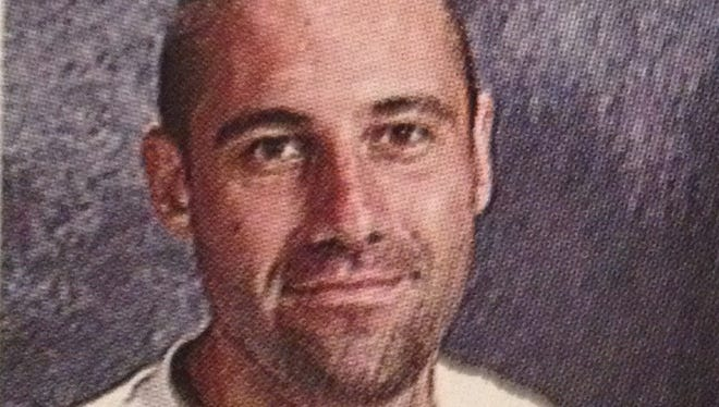 Adam Heller, shown in this 2009 yearbook photo, was an English teacher at Fox Lane High School in Bedford, New York before school officials, worried he was mentally unstable, fired him in May.