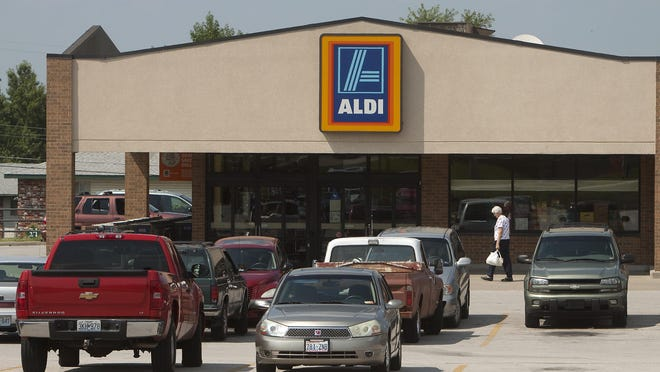 Aldi currently has two stores in Springfield, including this one at 1645 E. Kearney St.
