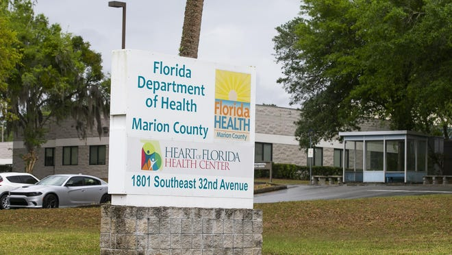The Florida Department of Health in Marion County in Ocala.