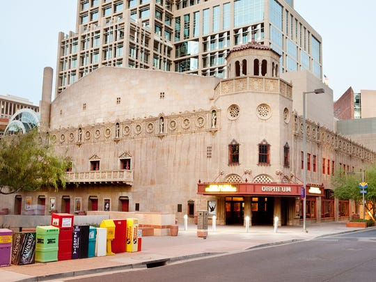 The Orpheum Theatre is seen in Phoenix on  Aug. 27,